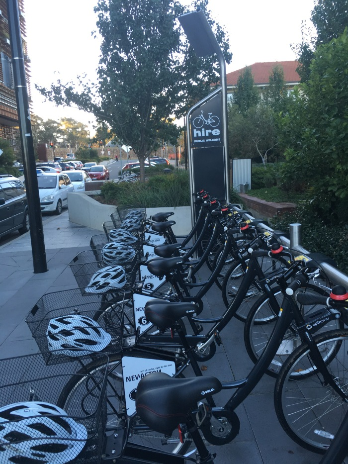Bikes for hire in Canberra