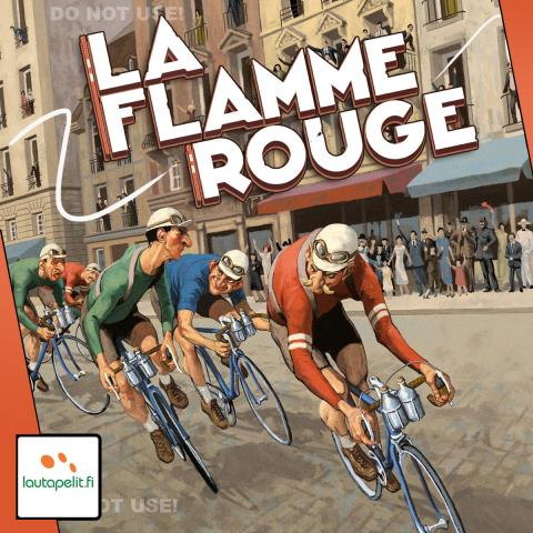 La Flamme Rouge cycling board game
