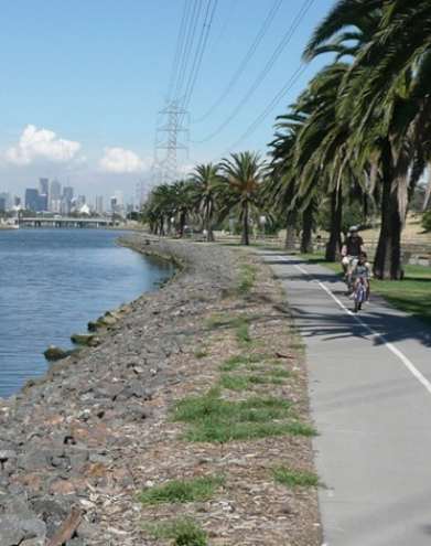 Best rides in Melbourne - Maribyrnong River