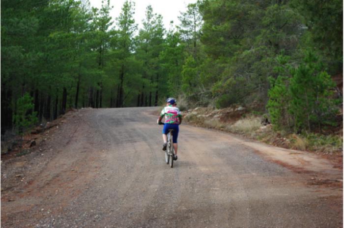 Best bike ride - Tuggeranong Pines Canberra
