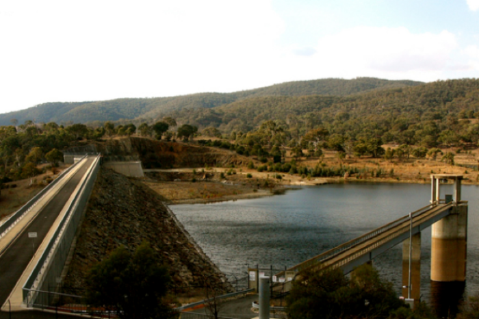 Best rides in Australia - Googong dam